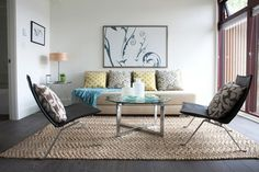 Torre & Tagus - Trestle coffee table and adjustable side table