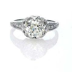 Replica Art Deco Engagement ring