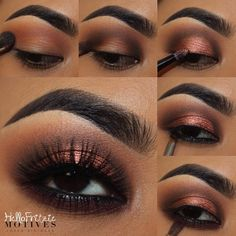 ✨steps and deets from 3 posts ago paired with @flutterlashesinc CAMI MINK  @salonperfect brow pomade in dark brown brushes from @morphebrushes @royallangnickel  pressed shadows from @motivescosmetics  DEMURE PALETTE -apply motives eye base all over eyelid -apply BARE above the crease as transition shade -apply LUSH on the crease for depth -apply LIGHTS OUT on the lid -apply GLEAM no the tear duct -line waterline with LBD gel liner and apply TEDDY no the lower lash line  Tag a friend or t