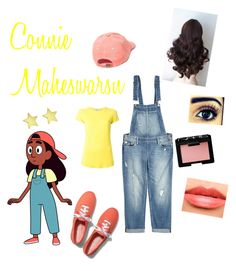 """Connie Maheswaran from Steven Universe"" by zamantha-palazuelos ❤ liked on Polyvore featuring Keds, Paige Denim, Jennifer Meyer Jewelry, Blumarine, Chanel, NARS Cosmetics and UNIF"
