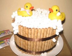 Rubber Duck Cake Duck Cake And Rubber Duck On Pinterest