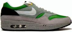 Nike Air Max 1 Skull Pack Green