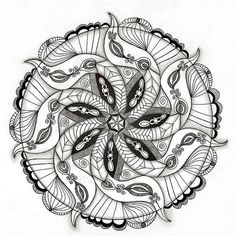 November 2011 Mandala by Paint Chip, via Flickr