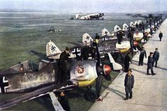 FW-190's on the flight line