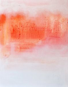 Desert landscape  - original abstract  oil painting - 20x16 inch. $250.00, via Etsy.