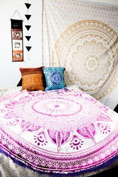 Wild Hearts Mandala Tapestry