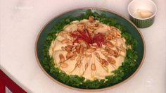 Kafta, Tahine, Hommos di Tahine e Babaganuge da chef Madeleine Saade   Árabe   Mais Você - Receitas Gshow