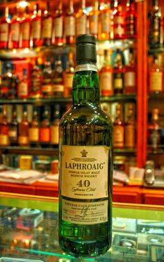 Laphroaig 40 Year - ah...someday