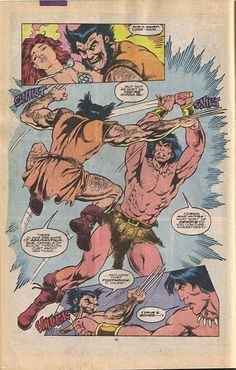 Conan the Barbarian meets Wolverine