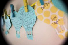 Up up and away Baby Shower Party Ideas | Photo 1 of 26 | Catch My Party