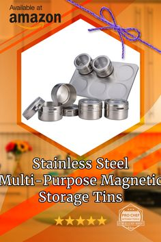 Decked Out Chromed Out Magnetic Storage Tins. Save Big Coupon Code PCTKSS25 Gets You 50% Off On Amazon