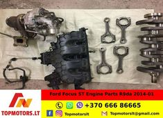 The engine had done 60 k miles. All engine parts in very good condition. Engine parts located in Vilnius, Lithuania. Ford Focus 1, Engine Rebuild, Mechanical Engineering, Spare Parts, Motor, Saints, Lithuania, Profile, Santos
