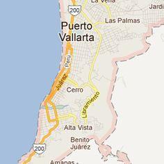 39 Best Maps of Puerto Vallarta images
