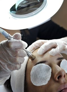 "We have Diamond Microdermabrasion. The ""Go-Green"" approach to traditional microdermabrasion provide the same results without the use of harmful crystals. Microdermabrasion + Facial Special for May: $65."