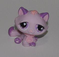 Kitten #576 (Purple, Purple Eyes)(Retired) Collector Toy