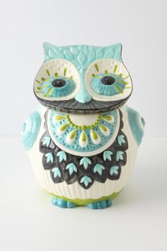 Bubo Cookie Jar - Anthropologie.com