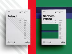 UEFA EURO 2016 // Retro Poster Collection Poland V Northern Ireland 12 June 2016 5pm  See the full collection here  Follow Studio–JQ  Behance | Twitter | Pinterest | Facebook All Works Copyright ©...