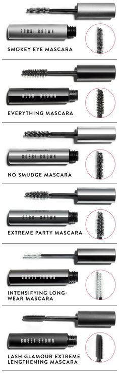 Bobbi breaks down all of her mascara formulas in this easy guide to help you get the lashes you want.