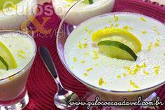 Esta Mousse de Limão com Iogurte é divina, foi feita com leite condensado caseiro e sem gelatina! É um docinho perfeito, não é?  #Receita no link: http://www.gulosoesaudavel.com.br/2013/08/16/mousse-limao-iogurte/