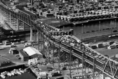 Tobin Bridge From Above