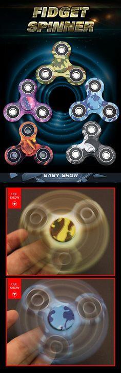 Tri spinner fidget toy