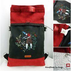 Chameleon 4:1 kézzel festett shopper backpack Gift Bags, Tote Bags, Chameleon, Messenger Bag, Satchel, Laptop, Backpacks, Shopping Bags, Shoulder Bags