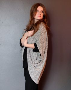 Cocoon jacket , cardigan , patterns instructions