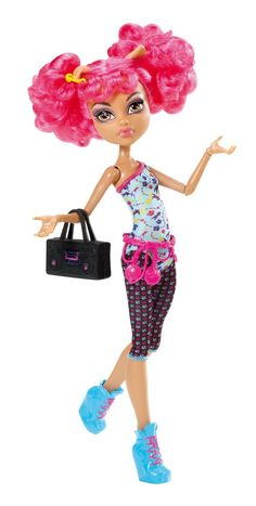 Monster High Dance Class Howleen (owned)