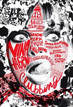 Nina Hagen | Slanted - Typo Weblog und Magazin #poster #graphic #ninahagen