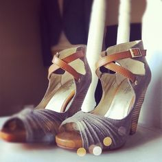 Rachel Dapaura snapped a pic of our WITNESS heels. Sooo pretty~