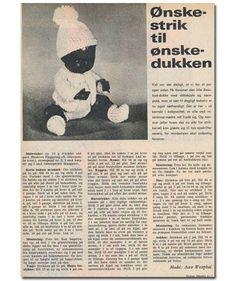 Fint tøj til Rose-buddukke/Ønskedukken - Hendes Verden - ALT.dk Rose Buds, Alter, Dolls, American, Baby Dolls, Doll