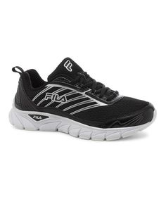 434be29ee6d4 Black   White Forward Running Shoe