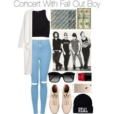 """Concert with Fall Out Boy"" by foreveryoungsince1999 on Polyvore"