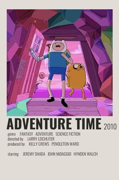 Adventure Time Poster by Cindy