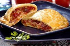 Receita de Pastel de forno com presunto e queijo em receitas de salgados, veja essa e outras receitas aqui!