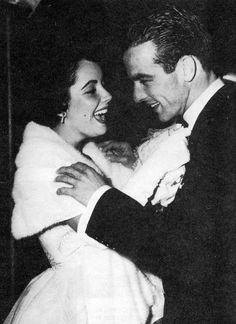 Elizabeth Taylor & Montgomery Clift