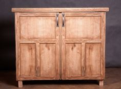 Right out of our worshop! Bayfield cupboard | Rustic furniture, rustic design, rustic home