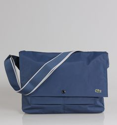 "Lacoste New City Casual 15"" Laptop Messenger - Navy Blue - Rushfaster.com.au Australia"
