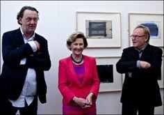 <p>NÆRE VENNER: Sammen med Kjell Nupen, fungerte Ørnulf Opdahl (t.h) som mentor for dronning Sonja.<br/></p>