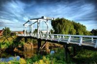 Brücke über die Lühe