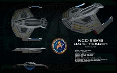 NCC- 61948. U.S.S TEAGER