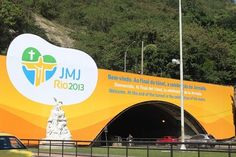 RELIGIÃO Outdoor anuncia a Jornada Mundial da Juventude