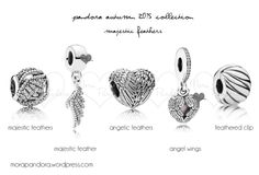 The Majestic Feathers charms from the Pandora Autumn 2015 collection!