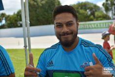 George Moala Rugby, Blues, Mens Tops, T Shirt, Supreme T Shirt, Tee Shirt, Tee, Football