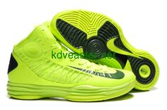 promo code bd8b0 04c8b Cheap Nike 2013 Womens Lunar Hyperdunk Volt Gorge Green Basketball Shoes  For Wholesale