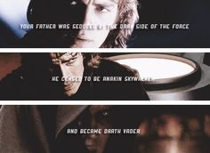 Anakin's fate...he ceased to be Anakin Skywalker and became Darth Vader...