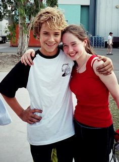 "thepeterpangeek: ""Jeremy Sumpter (Peter Pan) with Freddie Popplewell's (Michael Darling) sister, Anna Popplewell """