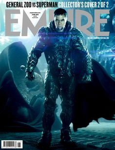 General Zod - MAN OF STEEL, Empire Magazine cover 2/2 like a boss