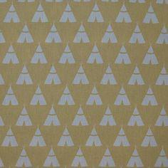 Premier Prints TeePee Fabric New Boy Fabric by PremierPrintsFabric