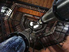 High Bridge water tower, San Francisco, California, USA